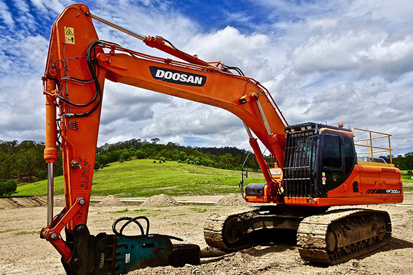 Digger-Excavator-Construction
